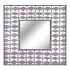 CBK Hatch Pattern Wall Mirror