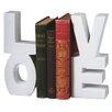 "CBK ""Love"" Book Ends"