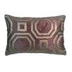 Edie Inc. Metallic Hexagon Laser Lumbar Pillow