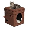 """Midwest Homes For Pets 16"""" Feline Nuvo Curious Cat Condo"""