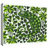 ArtWall 'Chameleon' by Nat Morley Painting Print Gallery-Wrapped on Canvas
