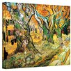 "ArtWall ""The Road Menders"" by Vincent Van Gogh Painting Print on Wrapped Canvas"