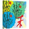 ArtWall 'Parasol Parade' by Jan Weiss Graphic Art Canvas