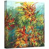ArtWall 'Quiet Lake II' by Jan Weiss Graphic Art Canvas