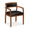 HON Basyx Leather Guest Chairs