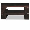 HON Attune Series Under-Credenza Storage With File and Printer Shelf, Mahogany