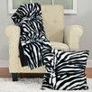 Vue by Ellery Safari Zebra Throw Blanket