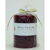 Mill Valley Candleworks Pomegranate Scented Pillar Candle