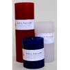Mill Valley Candleworks Patriot 3 Piece Unscented Pillar Candle Set