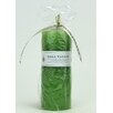Mill Valley Candleworks Green Pear Scented Pillar Candle