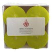 Mill Valley Candleworks Green Pear Scented Votive Candle (Set of 4)