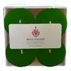 Mill Valley Candleworks Rosemary Mint Scented Votive Candle (Set of 4)