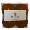 Mill Valley Candleworks Unscented Votive Candle (Set of 4)