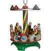 Alexander Taron Collectible Bike Carousel Tin Ornament