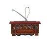 Alexander Taron Collectible Cablecar Tin Ornament