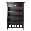 Winsome Zillah 20 Bottle Wine Cabinet
