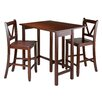 Winsome Lynnwood 3 Piece Dining Set