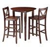 Winsome Fiona 3 Piece Pub Table Set