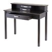 Winsome Liso Home Office Writing Desk with Hutch