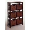 Winsome Leo 6 Drawers Storage Shelf
