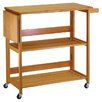 Winsome Kitchen Island with Wood Top