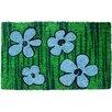 Entryways Sweet Home Floral Doormat
