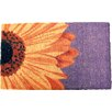 Entryways Handmade One Sunflower Doormat