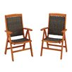 Home Styles Bali Hai Dining Arm Chair (Set of 2)