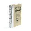 Hip Vintage Metallic Decorative Book