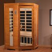 Dynamic Infrared 2 Person Corner Carbon FAR Infrared Sauna