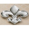 Kindwer Fleur De Lis 4 Section Tray