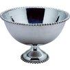 Kindwer Beaded Aluminum Punch Bowl