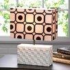 "Zingz & Thingz Geometric Pop Art 14.5"" H Table Lamp with Rectangular Shade"