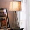 """Zingz & Thingz Metal Hatch 27.5"""" H Table Lamp with Bell Shade"""