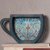 Zingz & Thingz Espresso Coffee Cup Shelf