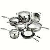 Tramontina Gourmet Domus 13 Piece Stainless Steel Cookware Set