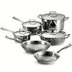Tramontina Gourmet Prima 10 Piece Stainless Steel Cookware Set