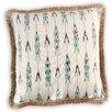 Vanderbloom Sutton Cotton-Burlap Pillow Cover
