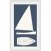 Melissa Van Hise Sail Boat I Framed Graphic Art