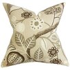 The Pillow Collection Prys Floral Cotton Throw Pillow