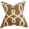 The Pillow Collection Chloris Geometric Throw Pillow