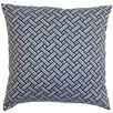 The Pillow Collection Nevin Cotton Throw Pillow