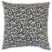 The Pillow Collection Olesia Animal Print Cotton Throw Pillow