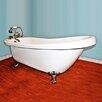 "Cambridge Plumbing 68.25"" x 31"" Claw Foot Slipper  Bathtub"