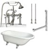 "Cambridge Plumbing 61"" L x 30"" W  Bathtub"