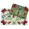 Xia Home Fashions Butterflies Placemat (Set of 4)