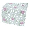 Xia Home Fashions Dainty Rose Table Runner