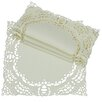 Dainty Lace Square Doily