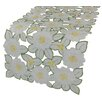 Xia Home Fashions Dainty Flowers Table Runner