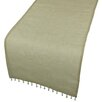 Xia Home Fashions Beaded Sheer Table Runner